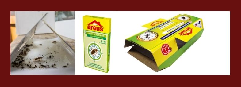 клеевая ловушка для тараканов
