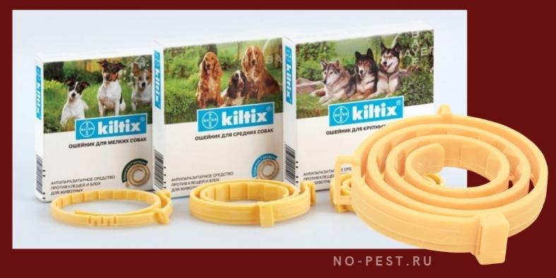 Килтикс - ошейник для собак от клещей и блох