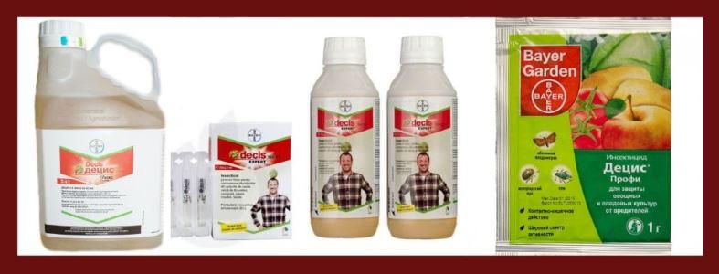 Децис инсектицид - инструкция и регламенты работ